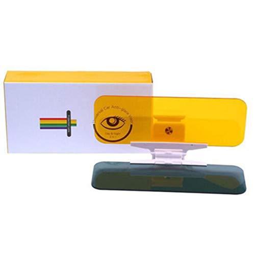 banbie8409 Auto Tag und Nacht Anti-Glare Visier 2 in 1 Auto Sun Anti-UV-Block Visor Non Glare Anti-Dazzle für Fahrbrille (Tag Und Nacht Visier)