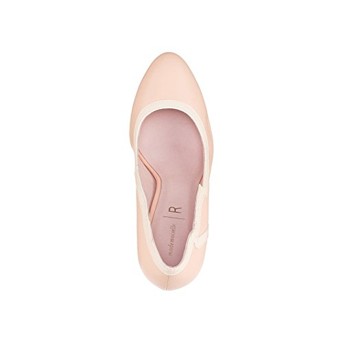 Mademoiselle R Frau Pumps In Wellenform Nude