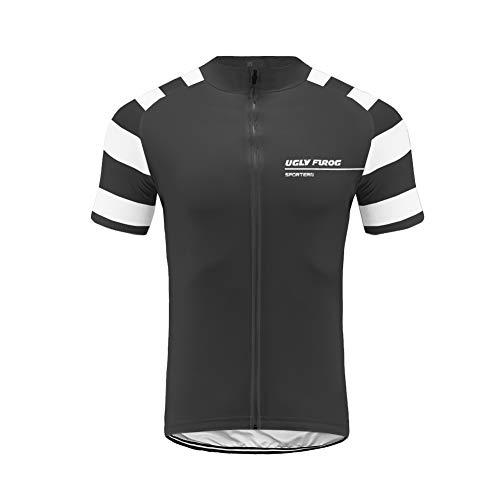Uglyfrog T-Shirt Fahrrad Trikots Geschenke für Herren Radfahrer Mountain Bike MTB BMX Biker Rennrad Tour Outdoor Freeride Trail Cross -