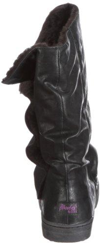 Blowfish Harley gefüttert BF1913AU11 Damen Stiefel Schwarz/black relax PU