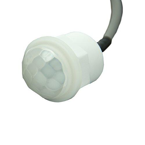 Mini PIR Einbau Bewegungsmelder 230V UP Infrarot LED 360 Grad Sensor Detector - 4
