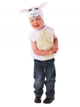 Kostüme Wappenrock (Christys Schaf Wappenrock Alter: 3-5 Jahre-Kostüm)