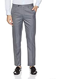Raymond Men's Relaxed Fit Formal Trousers