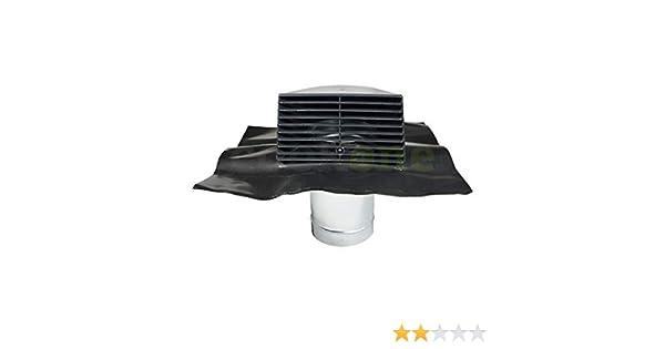 Standard dachhaube Ø 150 mm ab 45° universal bleipfanne und