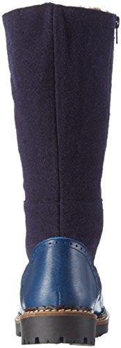 Jonny'S Winka, Bottes mi-hauteur avec doublure chaude femme Bleu - Blau (jeans / Marino)