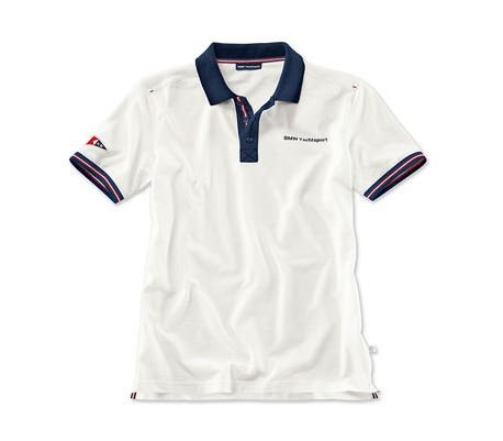Original BMW Hombre Polo–Camiseta Yachting Yachtsport tamaño m