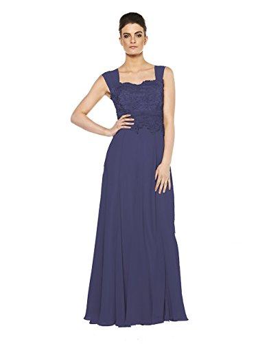 Dynasty - Pantalon de sport - Trapèze - Sans Manche - Femme Bleu Marine
