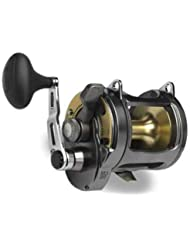 Shimano Tyrnos - Carrete de pesca multiplicador para pesca en alta mar, color negro y dorado Talla:TYR30
