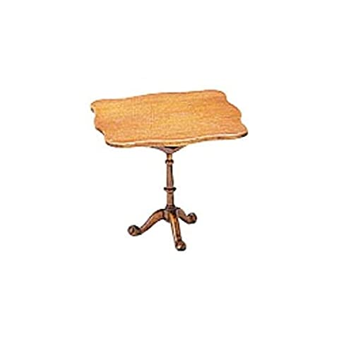 Dollhouse Miniature Tilt-Top Tea Table Kit-The Chippendale Collection by