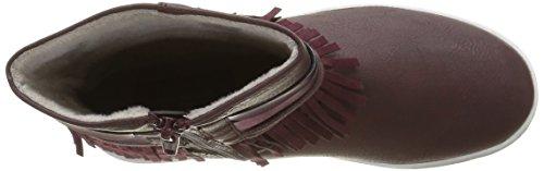 Tom Tailor 1672708, Bottes Classiques Fille Rouge (Bordo)