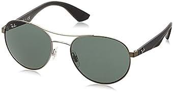 ray ban unisex sonnenbrille rb3536 grau matte gunmetal. Black Bedroom Furniture Sets. Home Design Ideas
