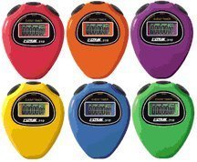 Ultrak 310 Event Timer Sport Stopwatch (Set of 6 Rainbow Colors) by Ultrak
