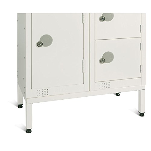 commercial-elite-white-locker-stand-for-two-300mm-lockers-school-workplace-hotel-gym-leisure-pool