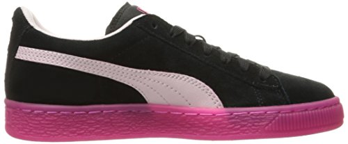 Camurça De de Jr Lfs Preta Camurça Puma Beterraba Gelado roxo Faux Sneakers rosa gPYw4
