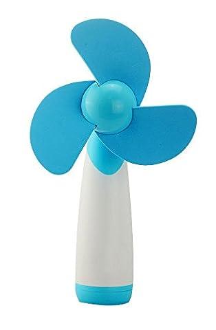Flyproshop Handheld Mini Super Mute ventilateur portatif Mini Candy Couleur AA alimentation par batterie portable ventilateur de refroidissement à piles Mini ventilateur électrique ventilateurs personnels pour la maison et les voyages