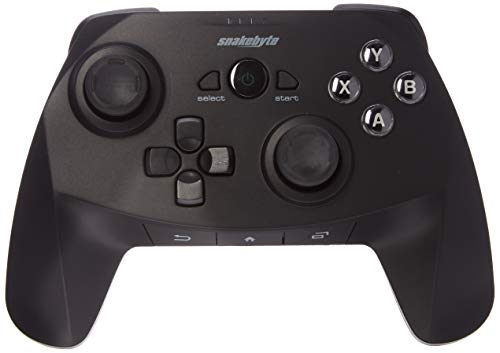 Snakebyte Gamepad für Android - Premium Wireless Bluetooth Controller - Wireless Controller / Joystick / Gamepad für Android Tablets, Smartphones, TV Boxen usw. - Kompatibel mit Android 3.2 oder höher
