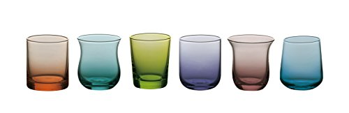 bitossi-home-mcv151-set-de-6-copas-de-licor-desigual-en-pasta-de-vidrio-colores-surtidos