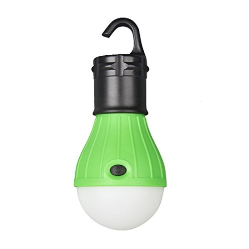 Outdoor Portable Waterproof LED Camping Tent Light Bulb Fishing Lantern Lamp Torch-Green