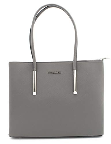 grey Flora Handle Top amp; Women's Co Nanucci Mousey Bag by Uwq4xUgz