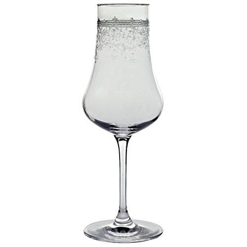Likörglas, Likörkelch, Schnapsglas, Edelbrandglas PANTO 250ml, transparent, Pantographie, Kristallglas, moderner Style (AMARA DESIGN powered by CRISTALICA)