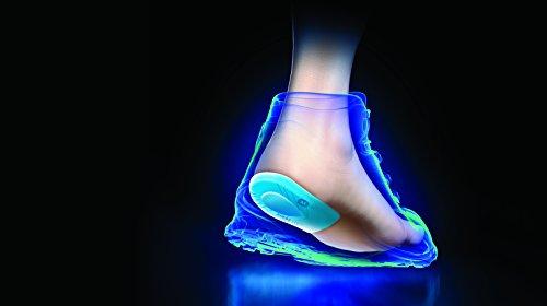 Sidas - Solette da tallone in gel Bone Spur, 2 pezzi blu
