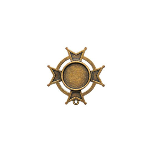 Gilded-Bezels Spellbinder Paper Arts-Piccolo bumper Iron Cross