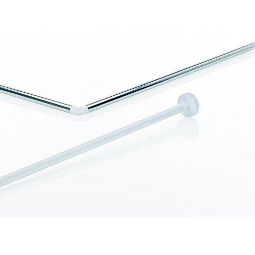 Kela Stange für Duschvorhang L-Form