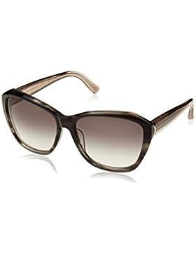 Calvin Klein Unisex Sonnenbrille CK7897S, Grau (Black Horn), One size