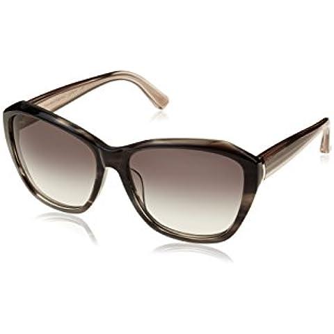 Calvin Klein CK7897S, Gafas de Sol Unisex Adulto, Gris (Black Horn), Talla Única (Talla Del Fabricante: One