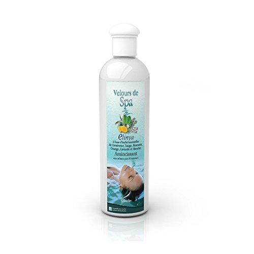 Camylle - Velours de Spa - Solution à base d'huiles essentielles pour spas – Elinya - Amincissant – 250ml