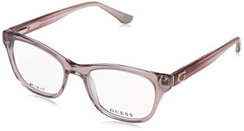 Guess Unisex-Erwachsene GU2678 059 49 Brillengestelle, Beige,