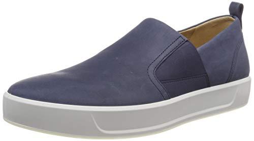ECCO Herren Soft 8 Slip On Sneaker, Blau (Marine 2038), 43 EU -