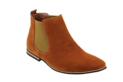 Xposed , Boots montantes Chelsea homme peau