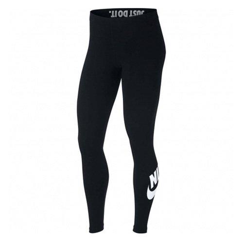 Nike AH2010-010 Collant Femme, Noir/Blanc, FR : M (Taille Fabricant : M)