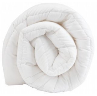Polycotton Polyester Hollowfibre Duvet/ Quilt 13.5 Tog, Single, Non Allergenic, UK Made by Sleep&Smile