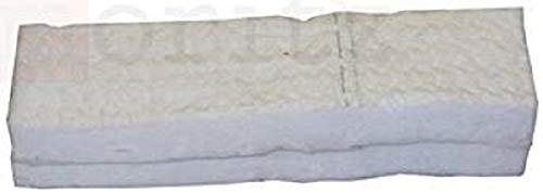 2 x Keramikschwämme 30 x 10 x 1,3 cm Keramische Wolle Keramik Wolle für Ethanol original Moritz®