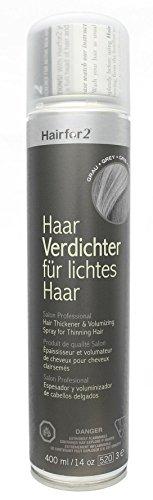 Hairfor2 Haarverdichtungsspray grau, 1er Pack (1 x 400 g)