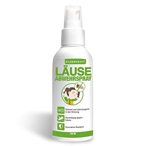 Silberkraft Kopfläusespray, für Kinder geeignet, Läusespray, zuverlässiger Läuseschutz für Abwehr und Vorbeugung von Läusen und Nissen, effiziente & wirksame Alternative zu Kopfläuse Kamm & Shampoo