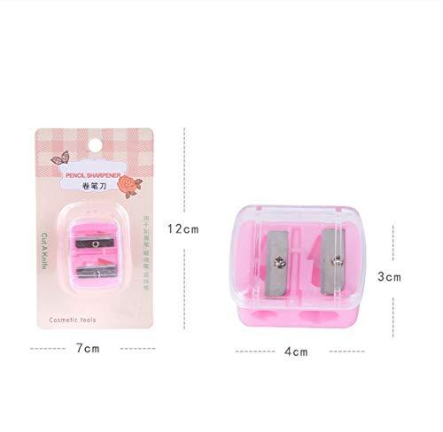 FGVBHTR Makeup-Anspitzer, Doppelkopf-Anspitzer, groß + kleines -