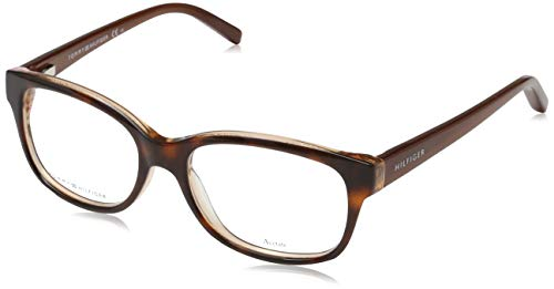 Tommy Hilfiger Unisex-Erwachsene TH 1017 Brillengestelle, Braun, 50