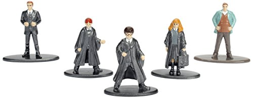 JADA-Nano-Metalfig-Harry-Potter-5-Pack-Pack-1-Harry-Year-1-Ron-Year-1-Hermione-Year-1-Percy-Arthur