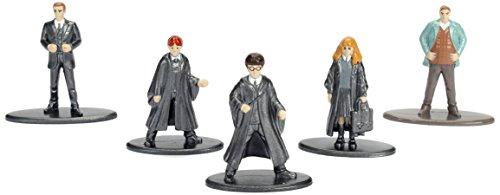 Jada – Nano Metalfig Harry Potter 5 Paquete: 1 (año de arría 1, año de Primera, año de Hermione 1, Percy, Arthur) 1
