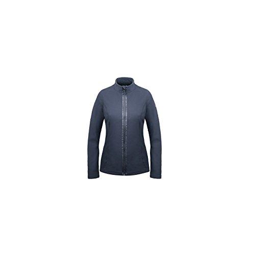 Polaire Poivre Blanc Fleece Jacket Gothic Blue Bleu Marine
