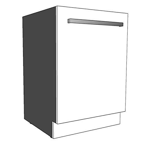 Geschirrspülersockel (Sockelleiste) 19mm Materialstärke (Weiß, 594x95mm)
