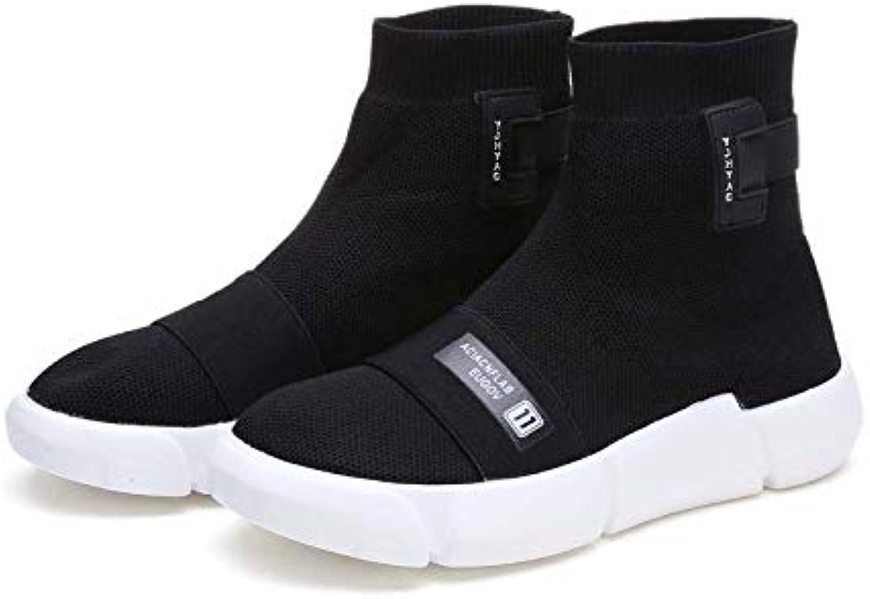 Liuxc Chaussures femme Chaussure de Sport Chaussettes Chaussures Black Bas Soft Black Chaussures Black SportsB07JVLGQFGParent 33bd81
