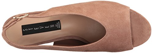 STEVEN by Steve Madden Womens Futures Dress Sandal Blush Suede