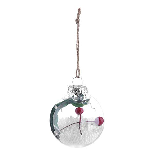 YouN Weihnachtsbaum Drop Ornamente Xmas Anhänger hängende Ball (Christmas Balls-P) -