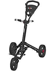 Elrey Golf Trolley 3 Rädern Zieh Cart