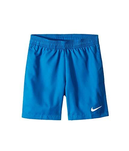 Nike Dri-Fit Short de Tennis Garçon, Military Blue Void/(White), FR : S (Taille Fabricant : S)
