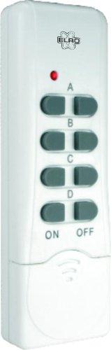 Elro AB440R Funkfernbedienung 4-Kanal zur AB440-Serie, weiß